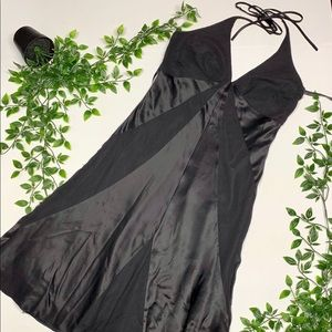 Laundry Silk Halter Dress (4)